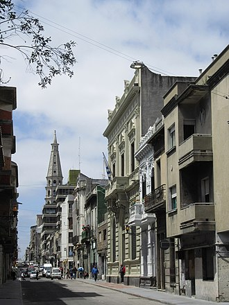 Montevideo - A street in Montevideo's Ciudad Vieja.