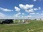 2017-06-06 10 37 50 View west toward the Automated Surface Observing System (ASOS) at Ronald Reagan Washington National Airport in Arlington County, Virginia.jpg