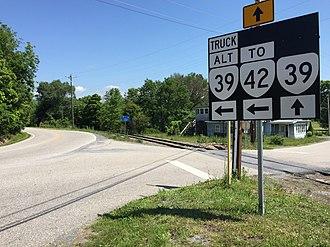Virginia State Route 39 - SR 39 Alt