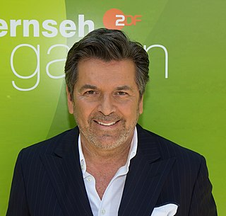 Thomas Anders German singer, composer, producer