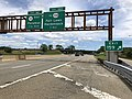 2018-07-21 12 37 51 View north along New Jersey State Route 444 (Garden State Parkway) at Exit 159 (Interstate 80, Saddle Brook, George Washington Bridge) in Saddle Brook Township, Bergen County, New Jersey.jpg