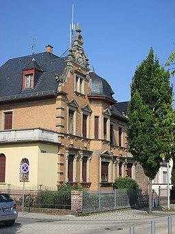 Bahnhofanlage in Schwetzingen