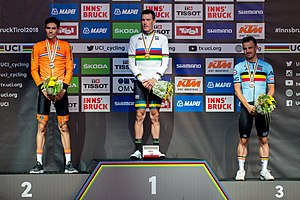 20180926 UCI Road World Championships Innsbruck Men's ITT Award Ceremony 850 9946.jpg