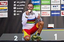20180930 UCI Road World Championships Innsbruck Men Elite Road Race Alejandro Valverde 850 2211.jpg