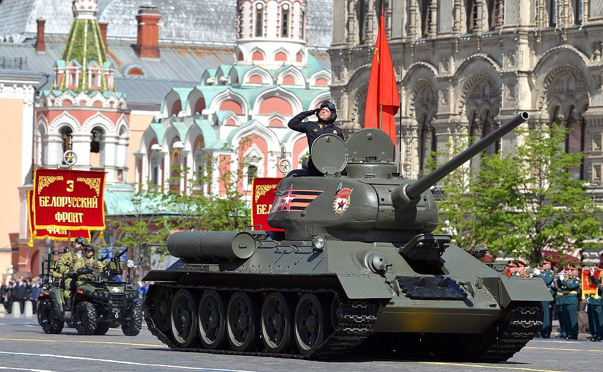Т-34-85 — Википедия