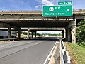 2019-06-06 16 11 38 View north along Interstate 81 at Exit 247B (U.S. Route 33 WEST, Harrisonburg) in Harrisonburg, Virginia.jpg