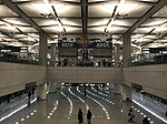 201901 Center Lobby of Metro Hongqiao Airport Terminal 2 Station.jpg