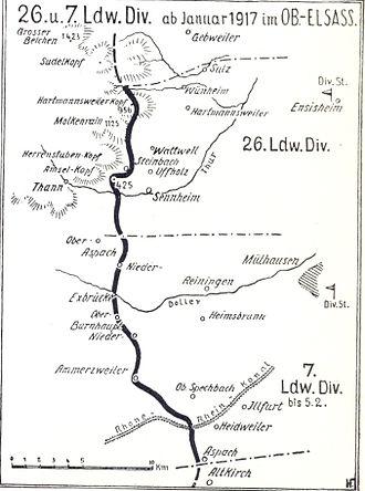 26th Landwehr Division (German Empire) - Image: 26. I.D. Januar 1917