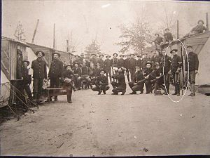 142nd Field Artillery Regiment - Men of the 2nd Arkansas Infantry