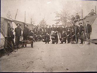 142nd Field Artillery Regiment - Men of the 2nd Arkansas Infantry