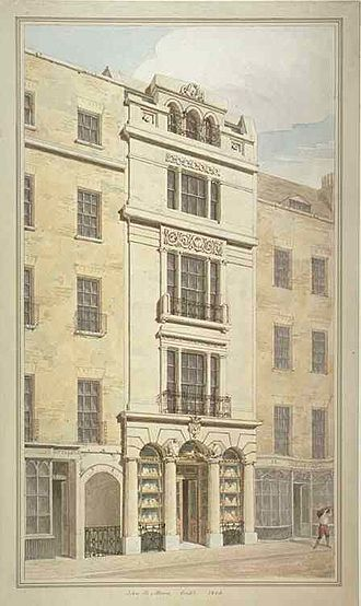 Philip Rundell - Image: 32 Ludgate Hill