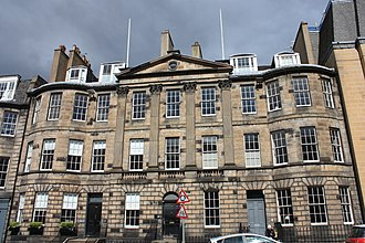 Walter Scott - 39–43 North Castle Street, Edinburgh