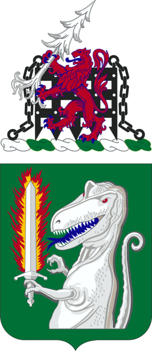 40th Cavalry Regiment (United States) - Coat of arms