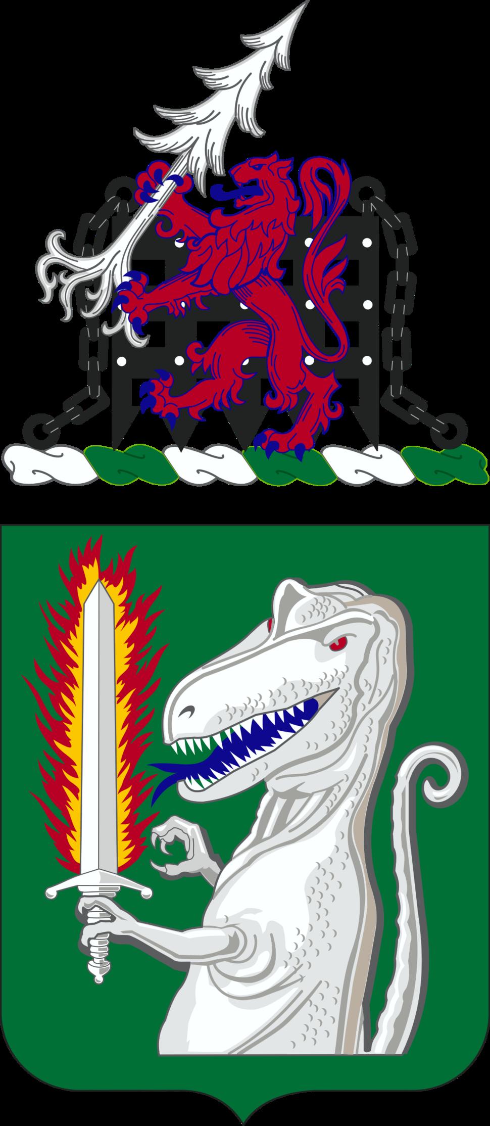 40th Cavalry Regiment Coat of Arms