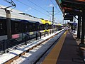 46th Street Light Rail station and train.jpg