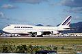 48az - Air France Boeing 747-300; F-GETB@SXM;03.02.1999 (4734662636).jpg
