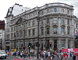 Drummonds Bank - Image: 49 50 Trafalgar Square (geograph 5371754)