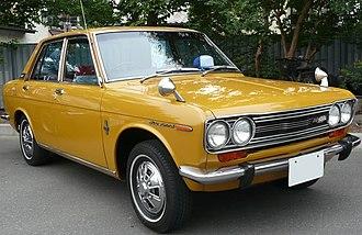 Datsun 510 - Datsun Bluebird SSS 4-door (510)