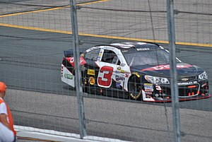 Austin Dillon - Dillon racing at New Hampshire Motor Speedway in 2015