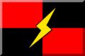 600px Rosso e Nero (Quadrati) con Fulmine Giallo.png