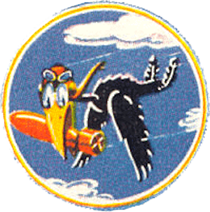 670th Bombardment Squadron - Emblem of the 670th Bombardment Squadron
