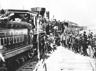 railroad and train-related history of the United States