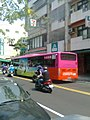 7-Eleven and Ren-Yeou Bus 591-FQ 20130607.jpg