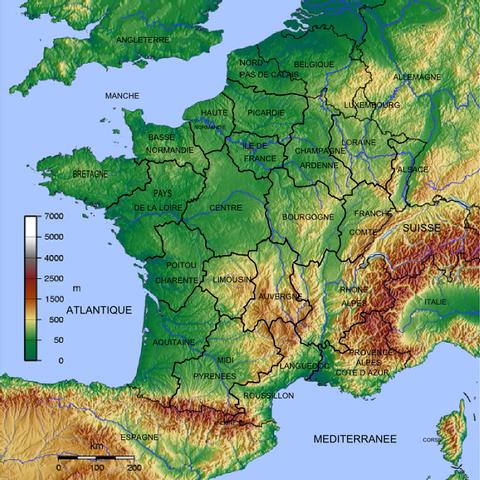 Frankreich Karte Regionen.Region Frankreich Heraldik Wiki