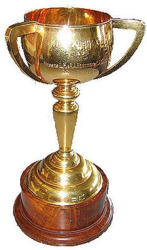 Melbourne Cup - The 1976 cup won by Van der Hum.