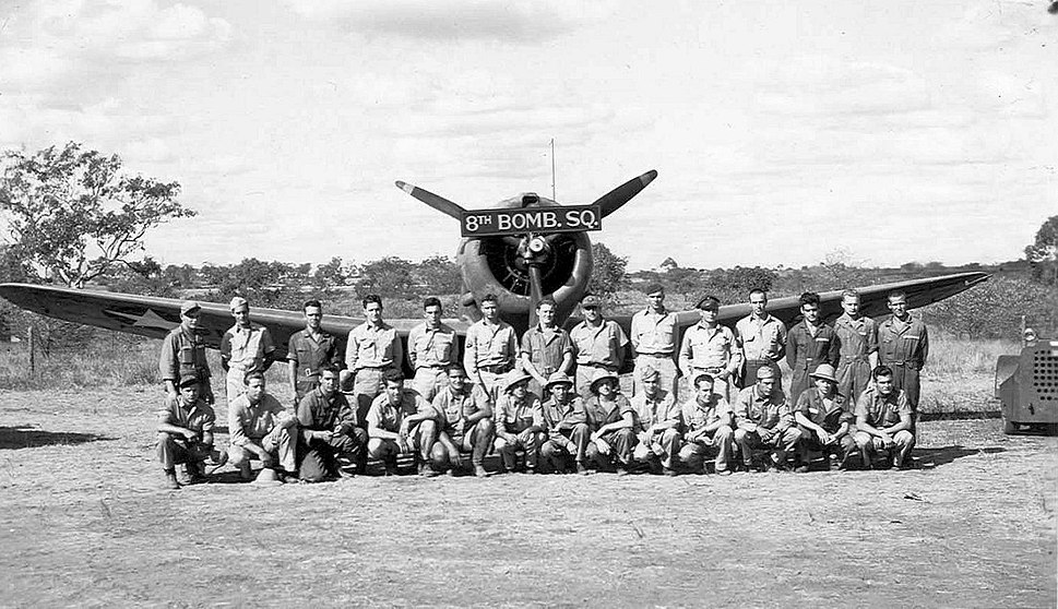 8th Bombardment Squadron - A-24 - Charters Towers