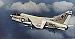 A-7E Corsair II of VA-56 in flight in 1978.jpg
