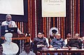 "A.P.J. Abdul Kalam delivering the inaugural lecture on ""Leadership Tomorrow Summit"" at the launch of the Post –Centenary Golden Jubilee Celebration of the University of Mumbai, in Mumbai. The Governor of Maharashtra.jpg"