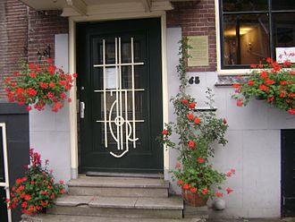 Adamantios Korais - Residence of Korais in Amsterdam