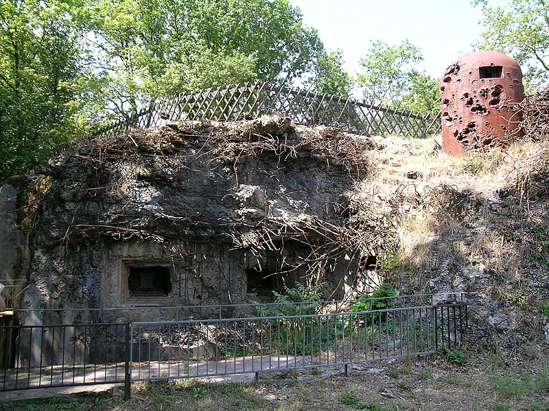 Bunker, bloc 2, Ouvrage Bambesch, Maginot Line, France