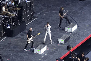 AFI discography - AFI performing on the American leg of Live Earth in July 2007