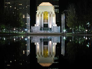 1934 in Australia - ANZAC War Memorial Sydney, built in 1934