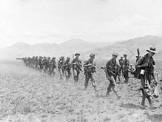 2/27th Battalion (Australia) - Image: AWM 058650 2 27 Bn Huon Peninsula 1943