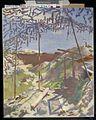 A German Gunners Shelter, Warlencourt Art.IWMART2965.jpg
