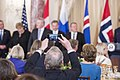 A Guest Takes a Photo of Secretary Kerry and Nordic Leaders at a Working Luncheon the Secretary Hosted (26926266241).jpg