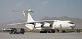 A Ilyushin Il-76on the runway at the airport. MOD 45147136.jpg