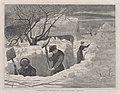 A Winter Morning – Shovelling Out – Drawn by Winslow Homer (Every Saturday, Vol. II, New Series) MET DP875245.jpg