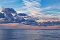 A beautiful, scenic sunset on Mille Lacs Lake, Minnesota (28982171863).jpg