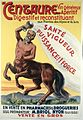 "A centaur advertising ""Centaure"" tonic wine made of Alpine p Wellcome L0028319.jpg"