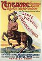 "A centaur advertising ""Centaure"" tonic wine made of Alpine p Wellcome L0028319.jpg"
