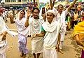 A few procession dancing participants at Jagannath Ratha Yatra festivities.jpg