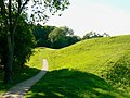 A path at the Roman amphitheatre, Cirencester - geograph.org.uk - 1930944.jpg