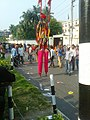 A stilt walker at Shahbag , Dhaka 5.jpg