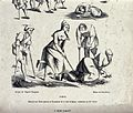 """A variety of """"crippled"""" beggars, members of the Wellcome V0020313.jpg"""