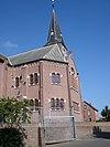 aalten (gld, nl) oosterkerk, sideview
