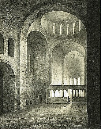 Pitsunda Cathedral - Image: Abkhasie. Basilique de Pijzjounda. (1847)